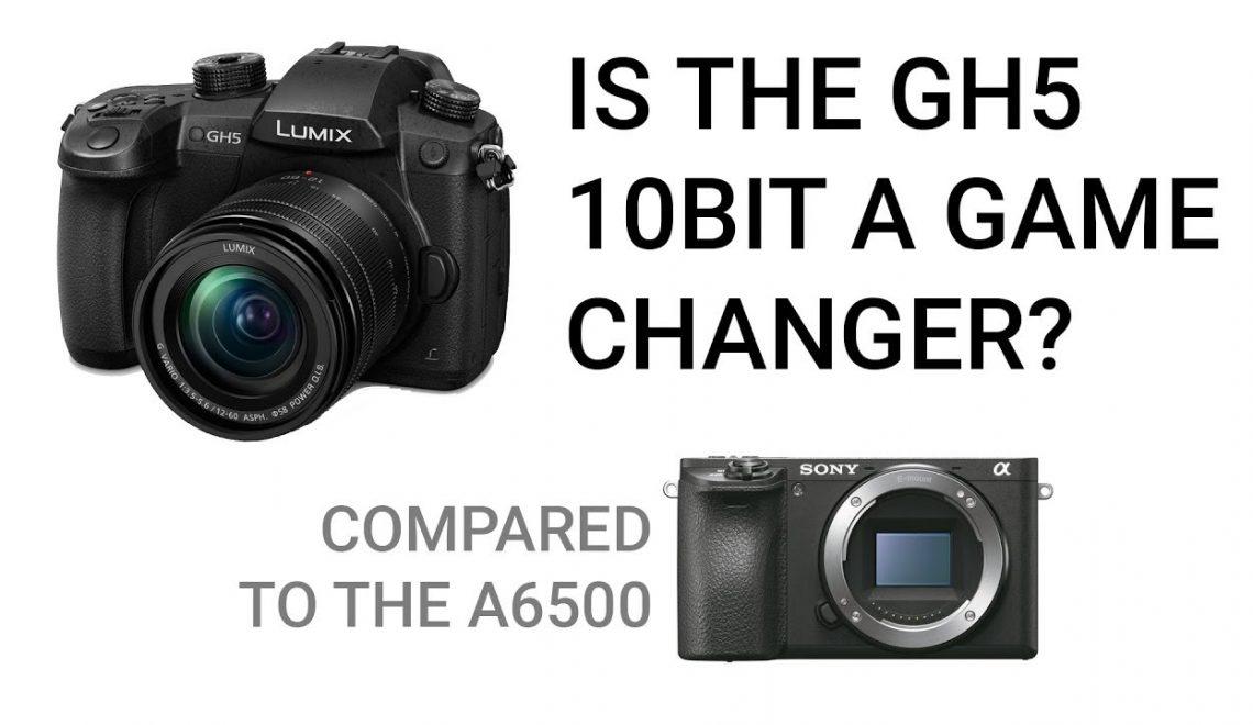 האם ה-GH5 עם עיבוד 10 ביט טוב יותר מ-a6500 עם עיבוד 8 ביט