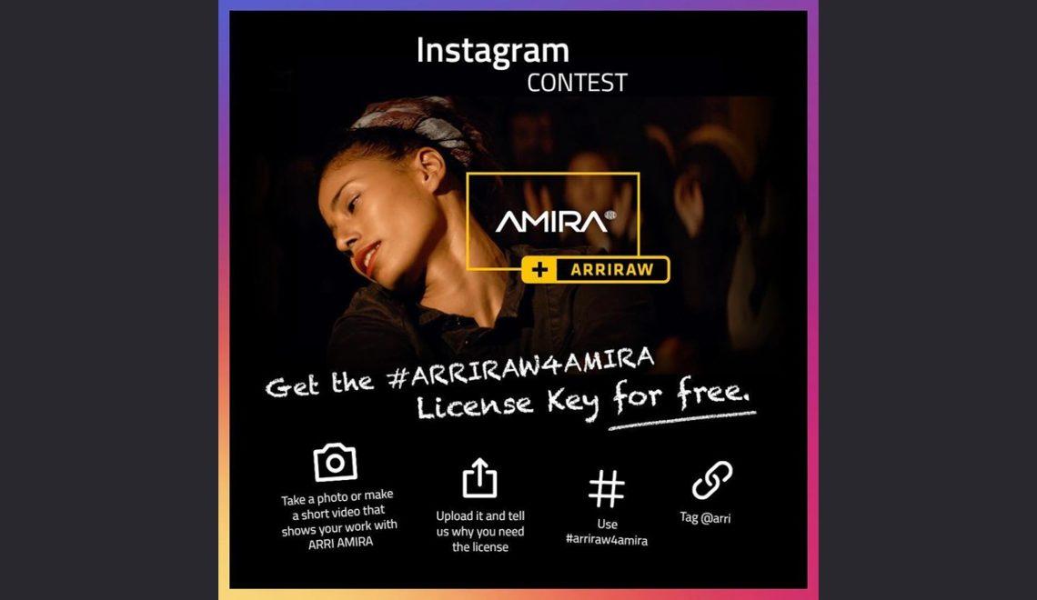 תחרות באינסטגרם של Arri הפרס: עדכון ArriRAW ללא תשלום