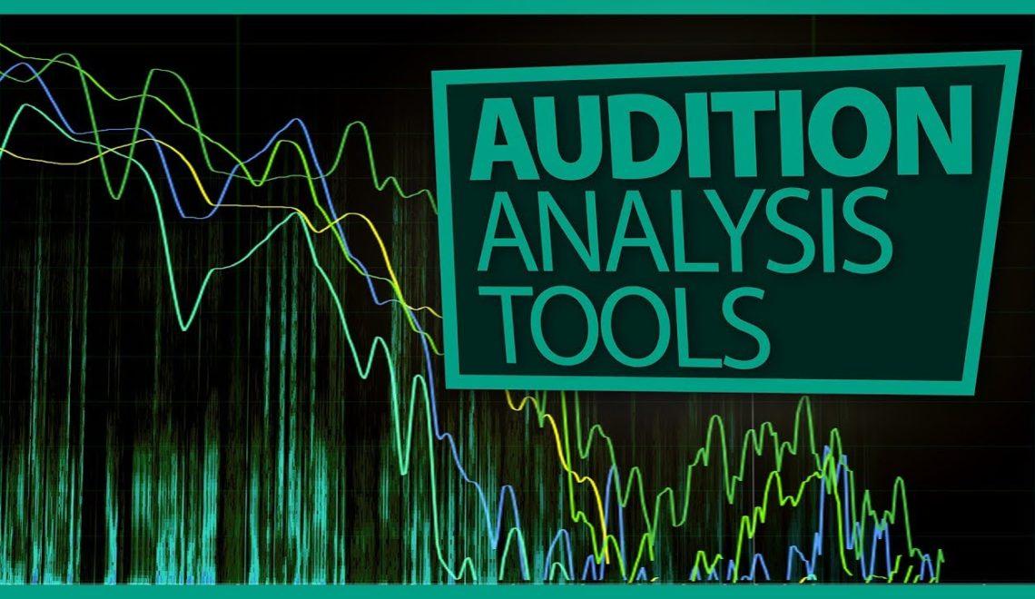 כלי ניתוח בתוכנת עריכת הסאונד Audition