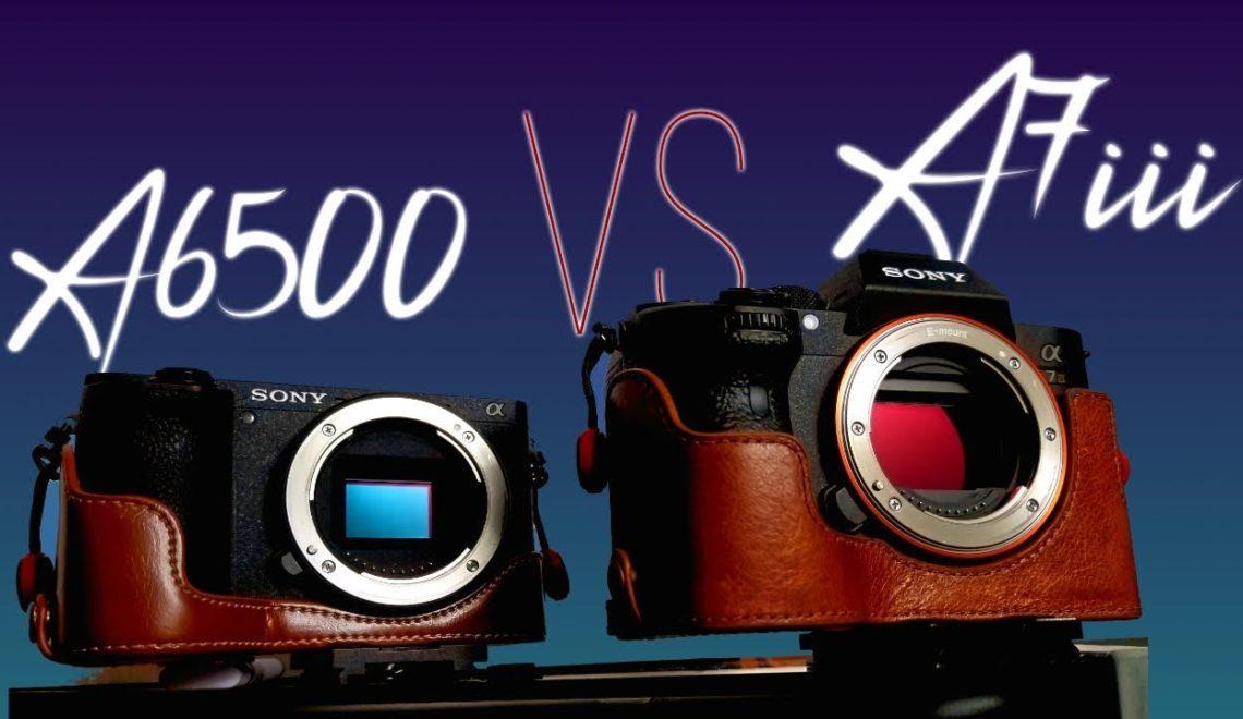 השוואה בין a6500 ל-a7 III