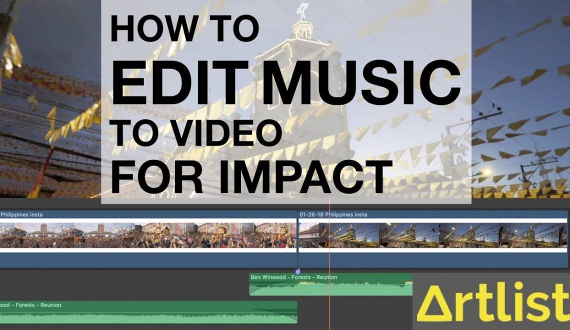 עריכת מוזיקה להפקת השפעה מקסימלית בווידאו