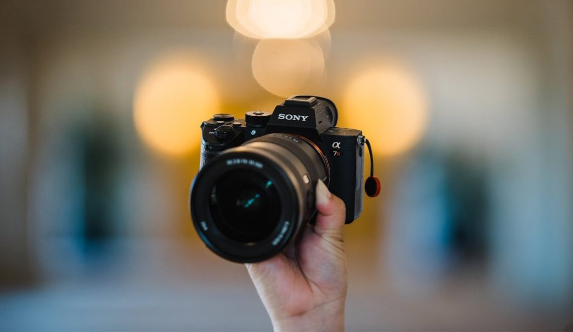 מצלמות ועדשות לצילומי חתונות