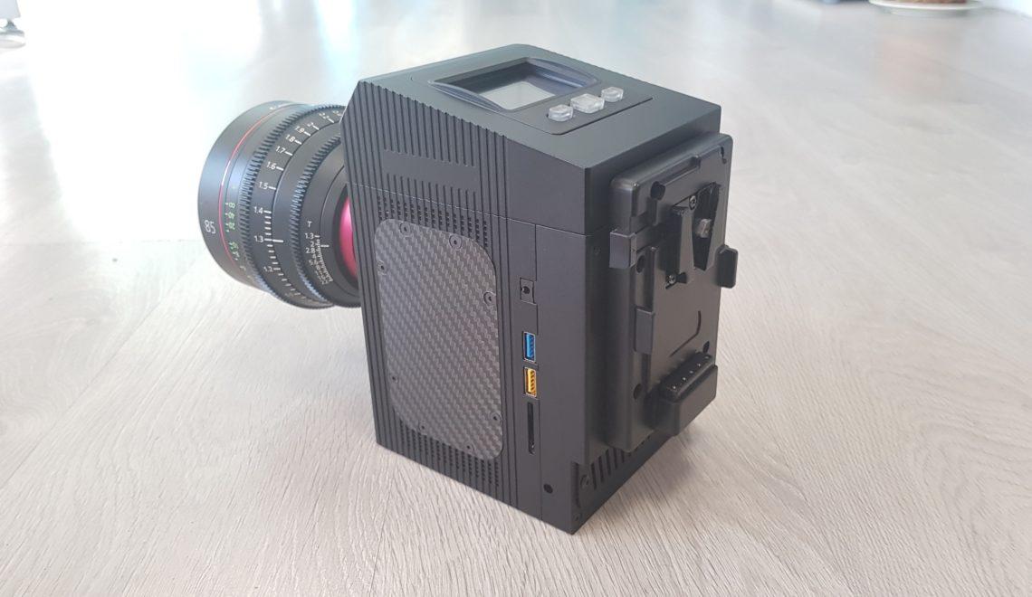 חומרי גלם ומצלמה נוספת 8k של Cinemartin
