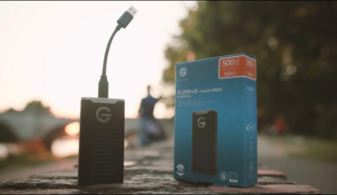 סקירה של כונן SSD מדגם G-Drive של חברת G-Technology