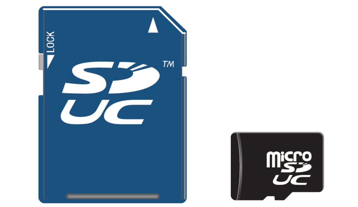 פורמט חדש לכרטיסי SD ה- SDUC