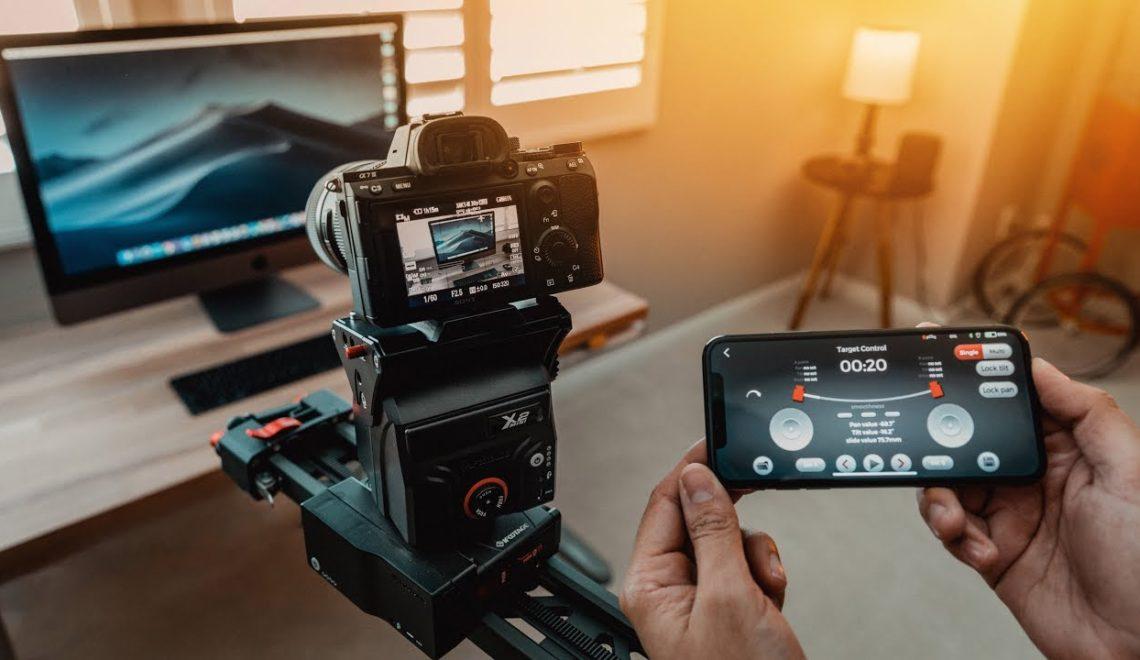 הסליידר הממונע הטוב ביותר לצילום קולנועי