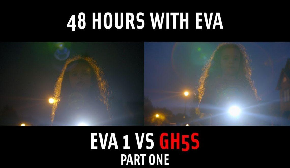 השוואה בין EVA1 ל-GH5s של פנסוניק
