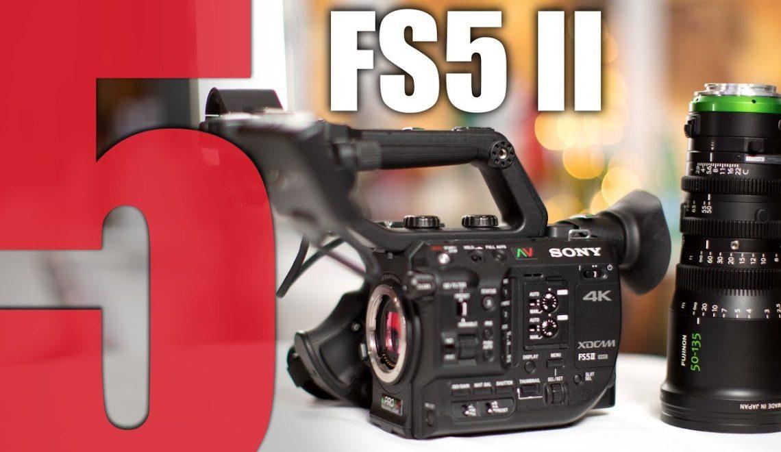חמש סיבות לרכישת מצלמת FS5 II של סוני
