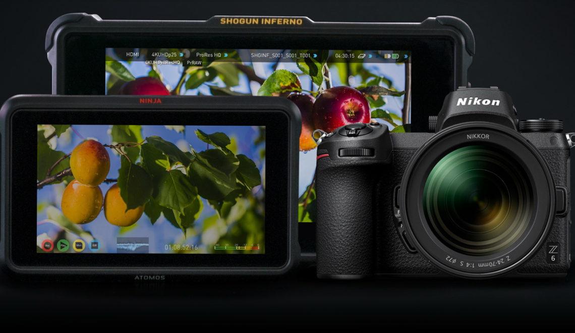 המקליט של Atomos תומך במצלמות החדשות של ניקון