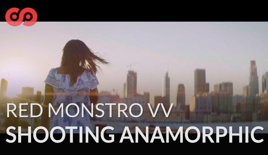 טיפים לצילום אנמורפי עם RED Monstro VV