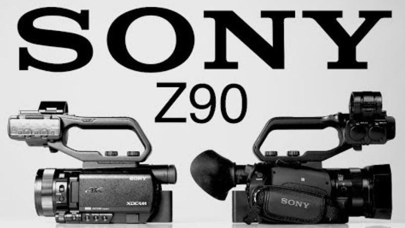 סקירה של המצלמה Z90 של סוני