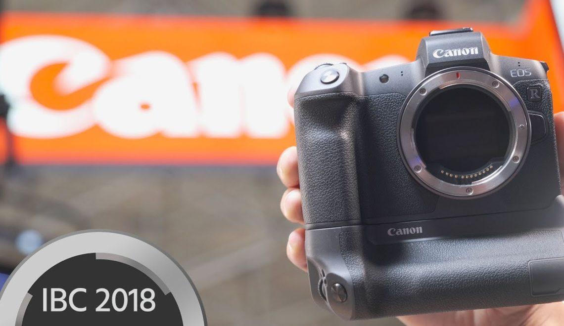 מידע נוסף על המצלמה החדשה של קנון EOS R
