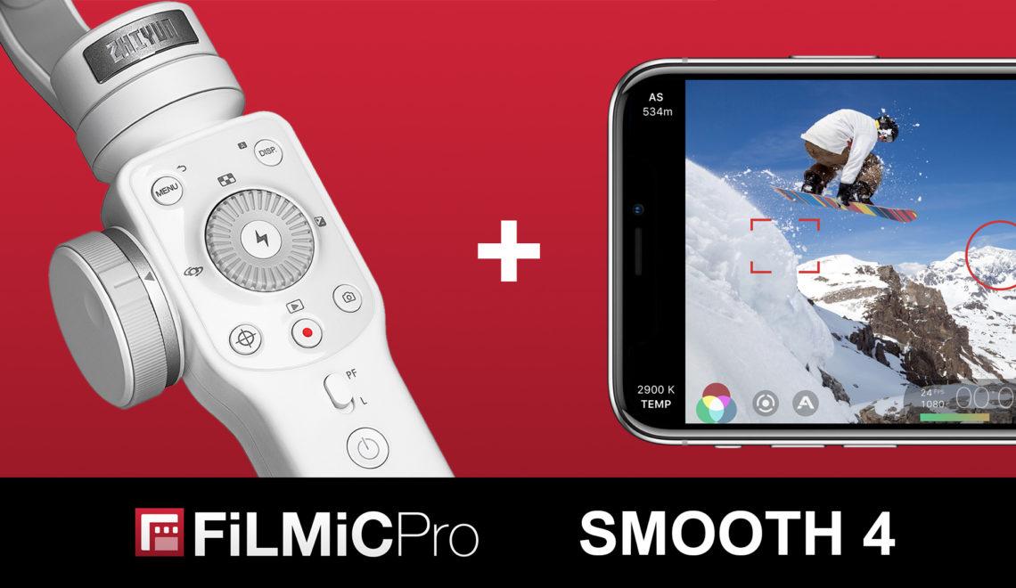 שיתוף פעולה בין יצרן מייצב ותוכנת צילום לטלפונים