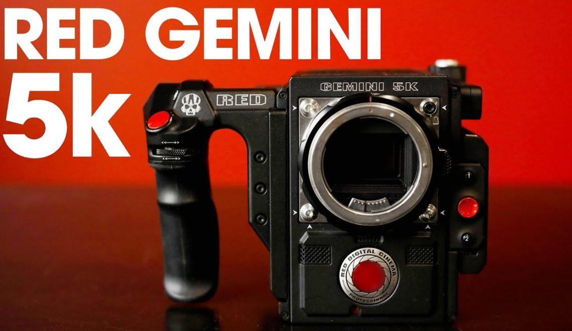 בדיקה של הרגישות של מצלמת Gemini של RED