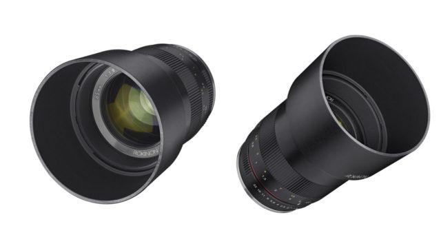עדשה חדשה של Samyang למצלמות ללא מראה