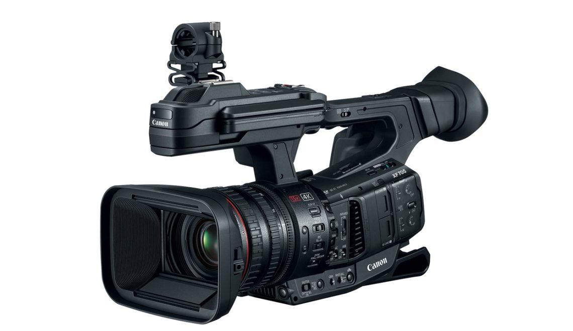 קנון השיקו את XF705 – מצלמת 4k באיכות 10bit