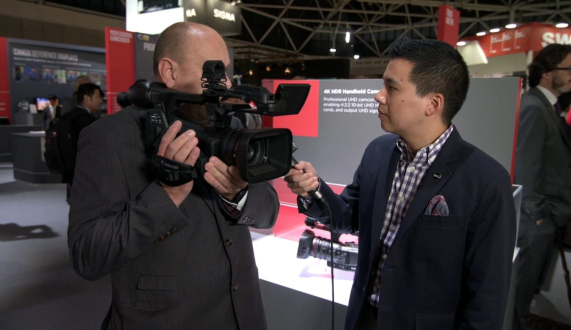 מידע נוסף על המצלמה החדשה של קנון XF705