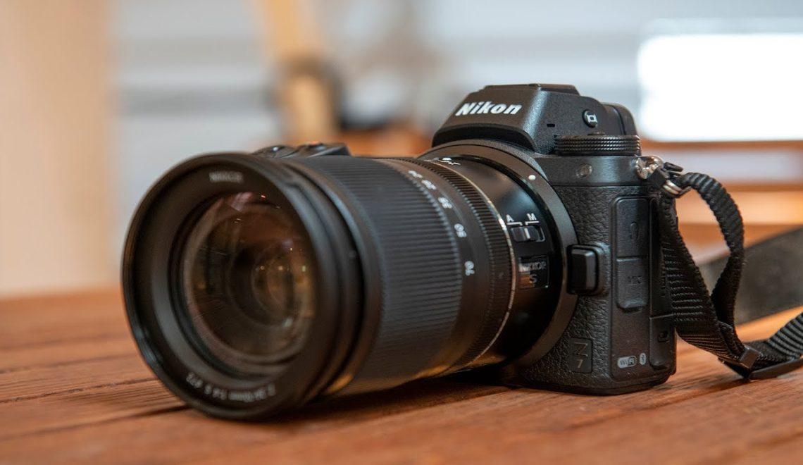 בדיקות של מצלמה Z7 של ניקון