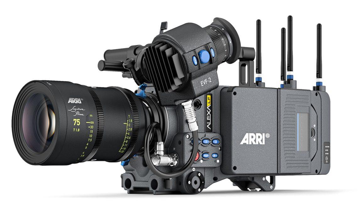 עדכון חומרה למצלמת Alexa LF של ARRI