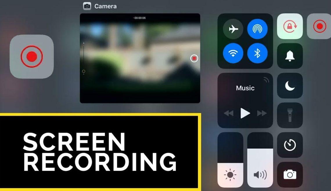 הקלטת של מסך של אייפון או אייפד בזמן צילום