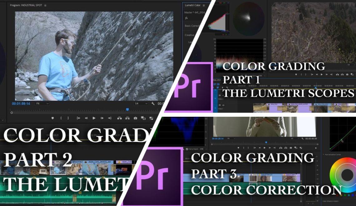 תיקון צבע עם כלי Lumetri בפרמייר