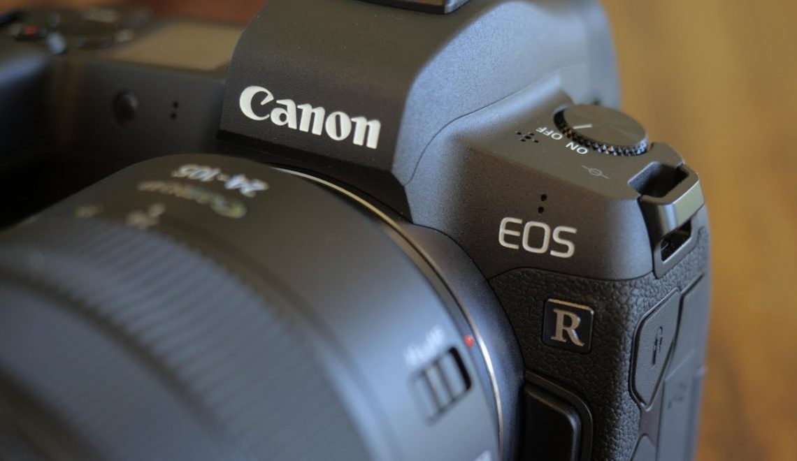 בדיקה של מצלמת EOS r של קנון