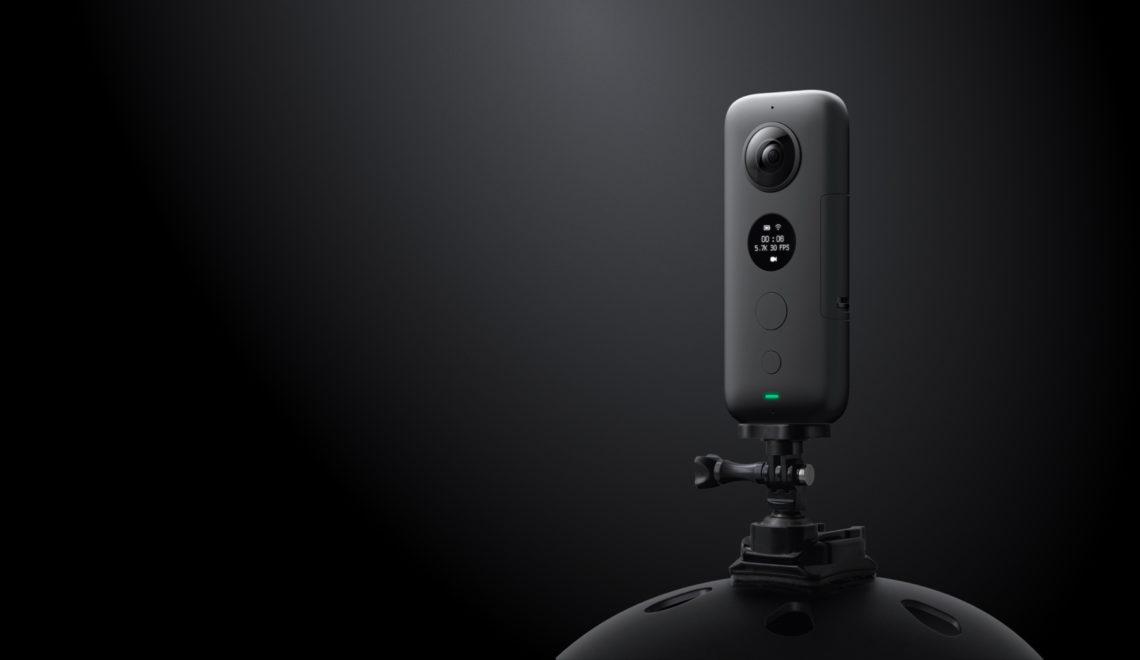 מצלמת אקשן / 360 מעלות חדשה של Insta360