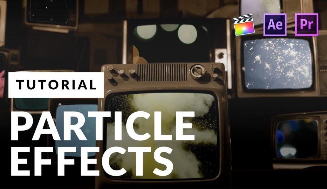 מדריך לאפקט חלקיקים המבוססים על Collider
