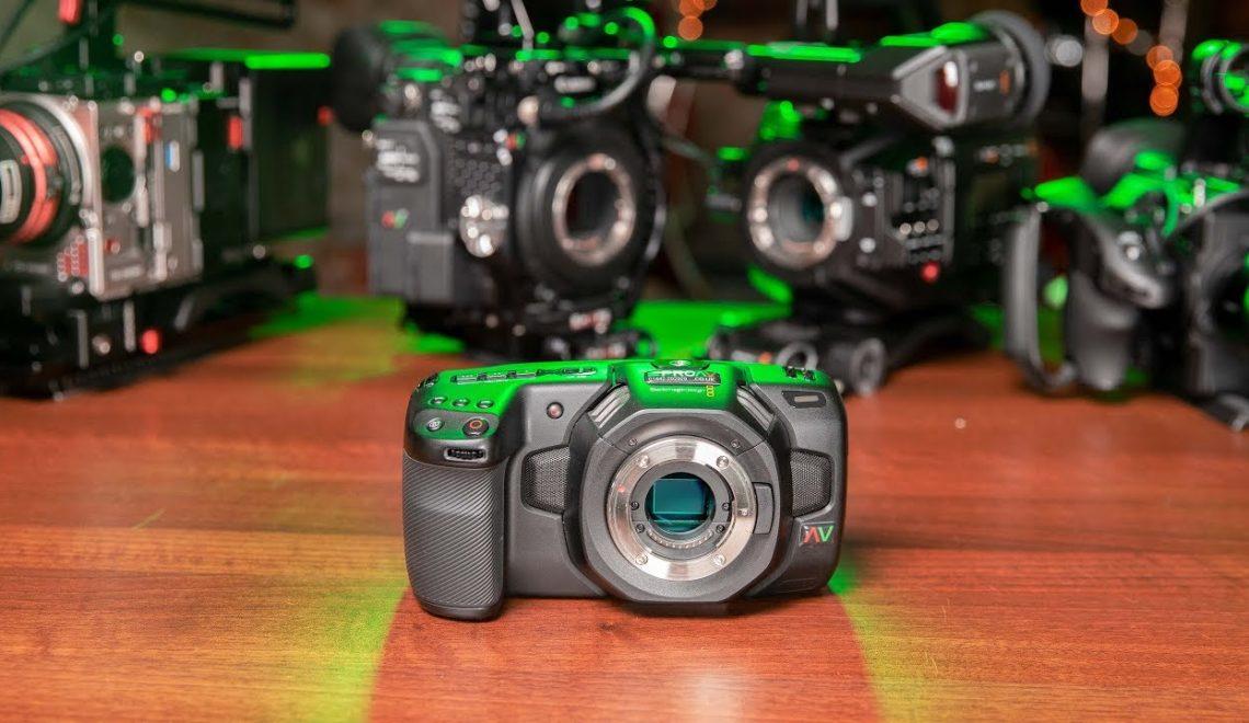 השוואה של מצלמת הפוקט למצלמות וידאו מקצועיות ברמת הכניסה