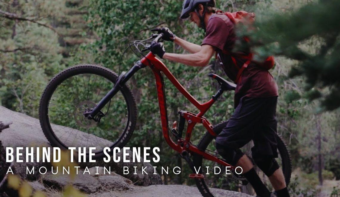 מאחורי הקלעים של צילום תחרות אופני הרים