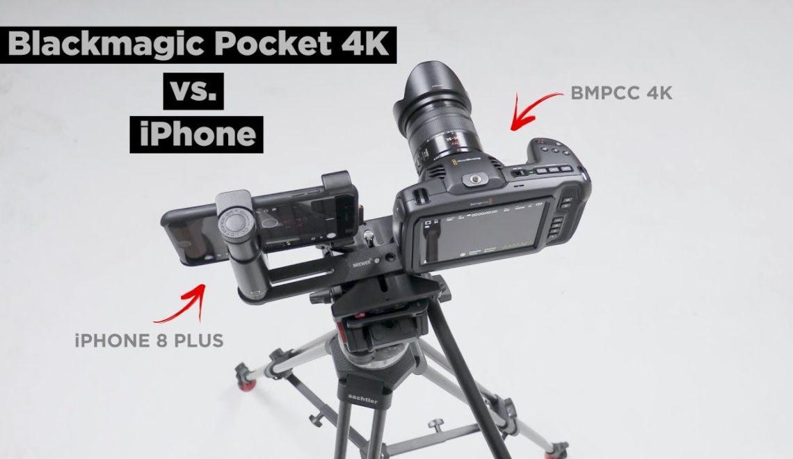 השוואה בין מצלמת הפוקט למצלמת איפון 8 פלוס