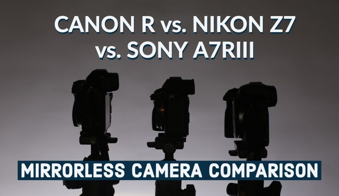 השוואה בין מצלמות ללא מראה – קנון, סוני וניקון