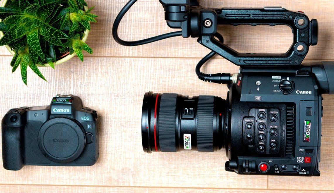 האם מצלמת EOS R יכולה לשמש כמצלמה שנייה?