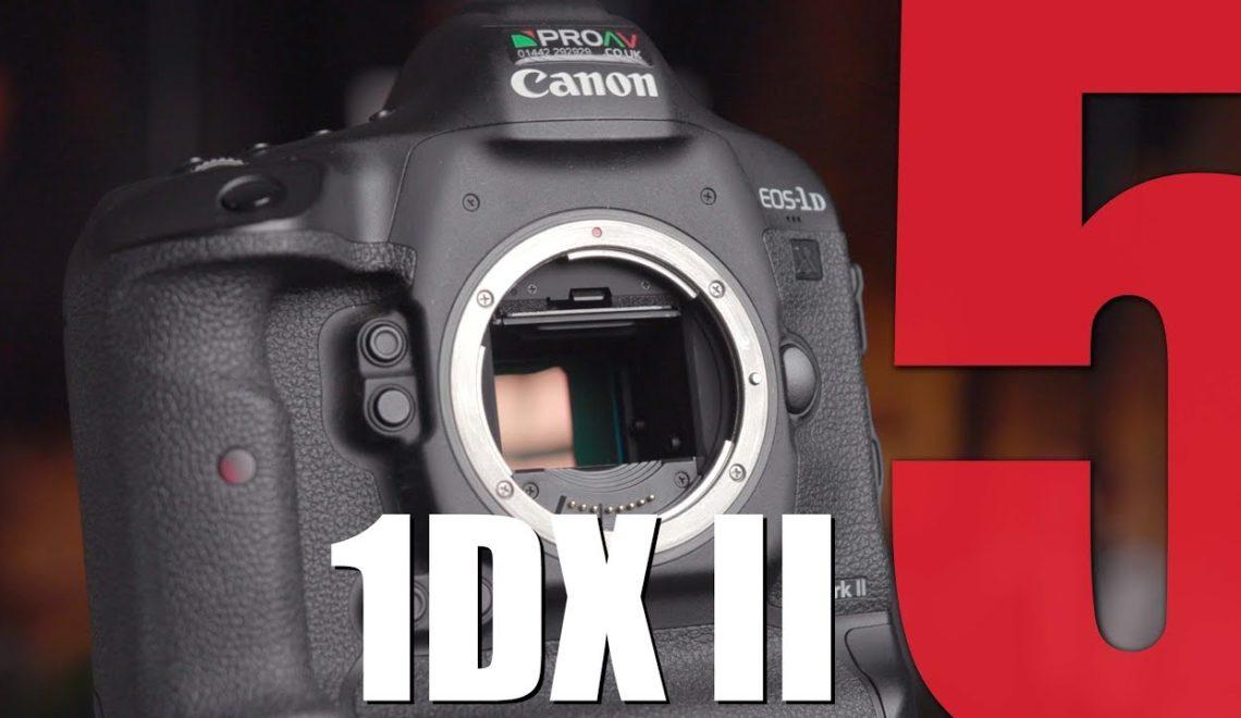 חמש סיבות לרכישת 1DX II של קנון