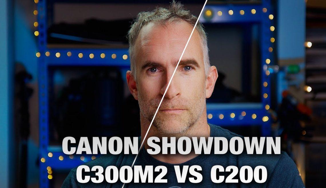 השוואה בין מצלמת C300 MkII ל-C200