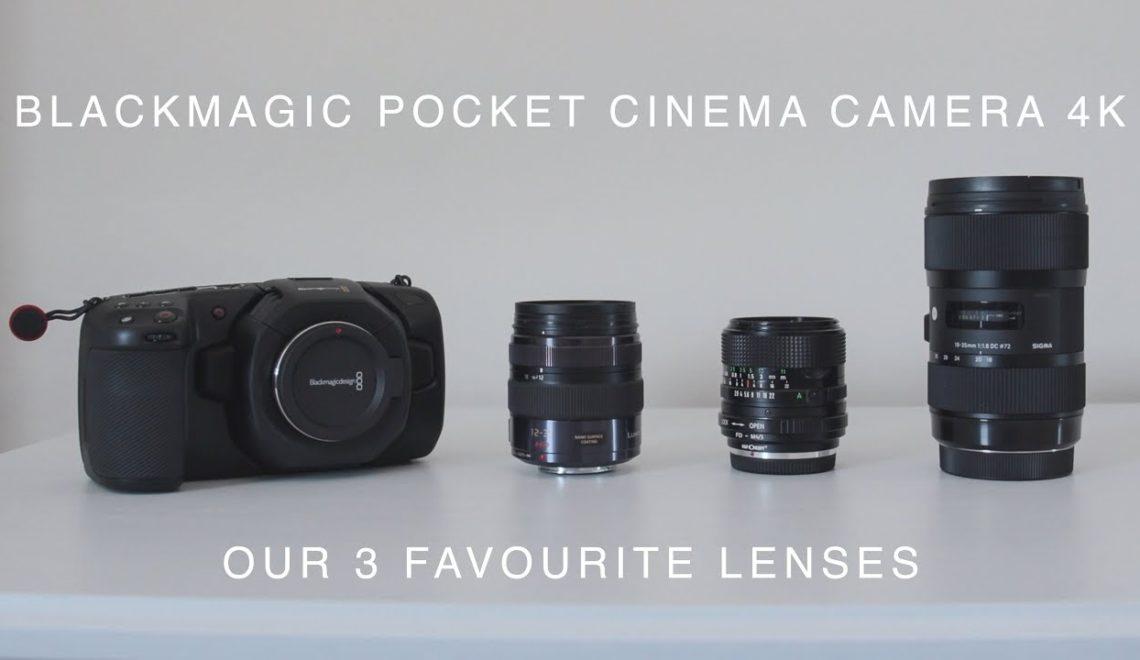שלוש העדשות המועדפות למצלמת הפוקט