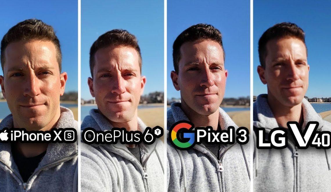 השוואה בין ארבעת המצלמות בטלפונים של אפל, OnePlus, גוגל ו-LG