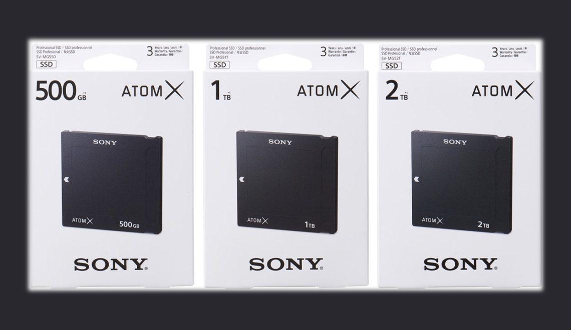 סוני השיקו כונני מיני SSD