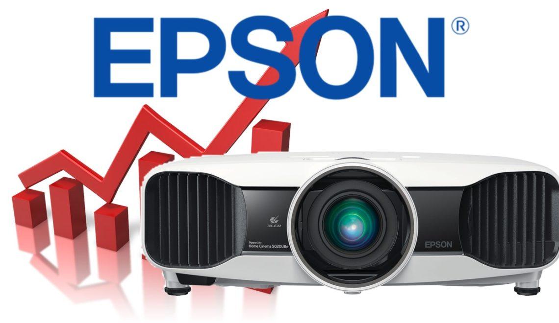 חברת Epson מובילה את שוק המקרנים המקצועיים גם השנה