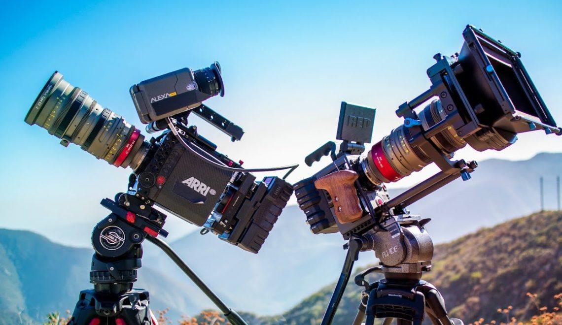 השוואה בין מצלמות Arri או RED