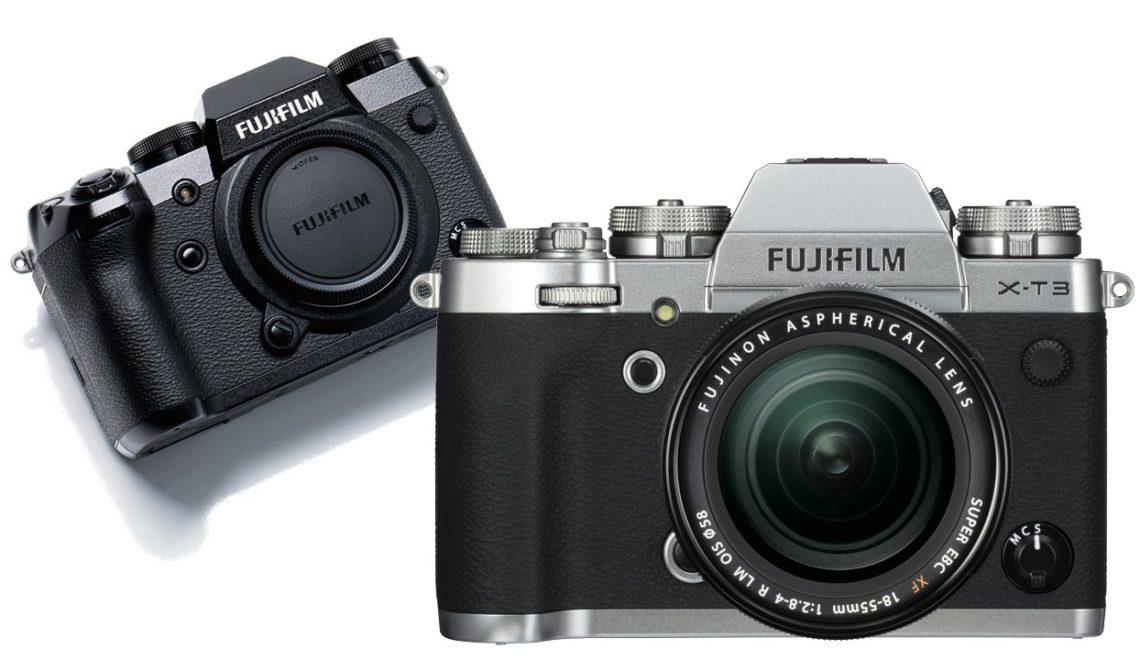 עדכון למצלמות X-T3 ו-X-H1 של פוג'י