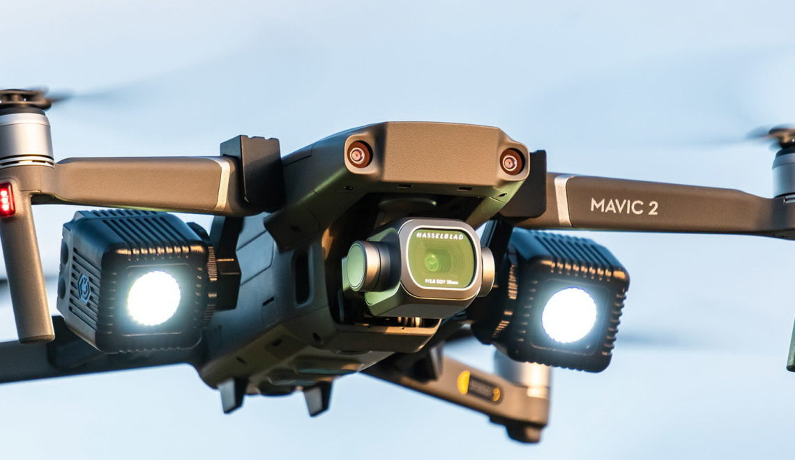 ערכת תאורה ל-Mavic 2