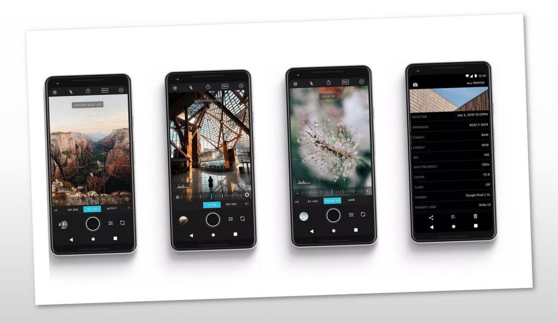 עדכון 3.5 של יישום הצילום (Moment (iOS