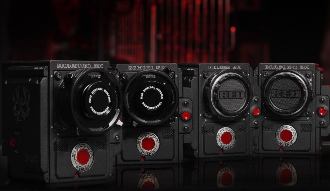 גוף חדש למצלמות RED