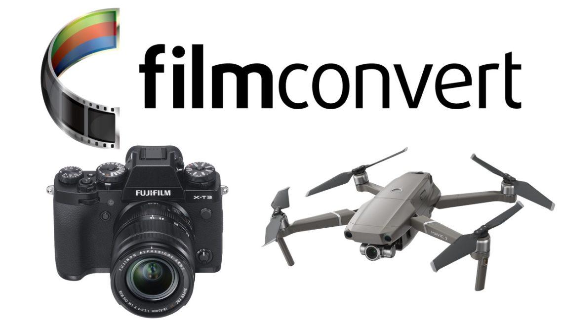 חברת FilmConvert הוסיפה פרופילים של פוג'י ו-DJI