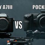 השוואה בין מצלמת הפוקט ל-a7 III