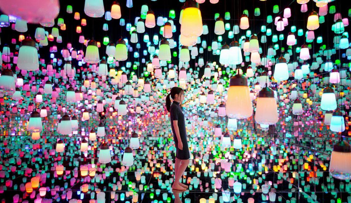 מקרנים של אפסון שותפים באטרקציה במוזאון בטוקיו