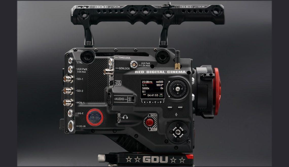 מצלמה חדשה של חברת RED להשכרה בלבד