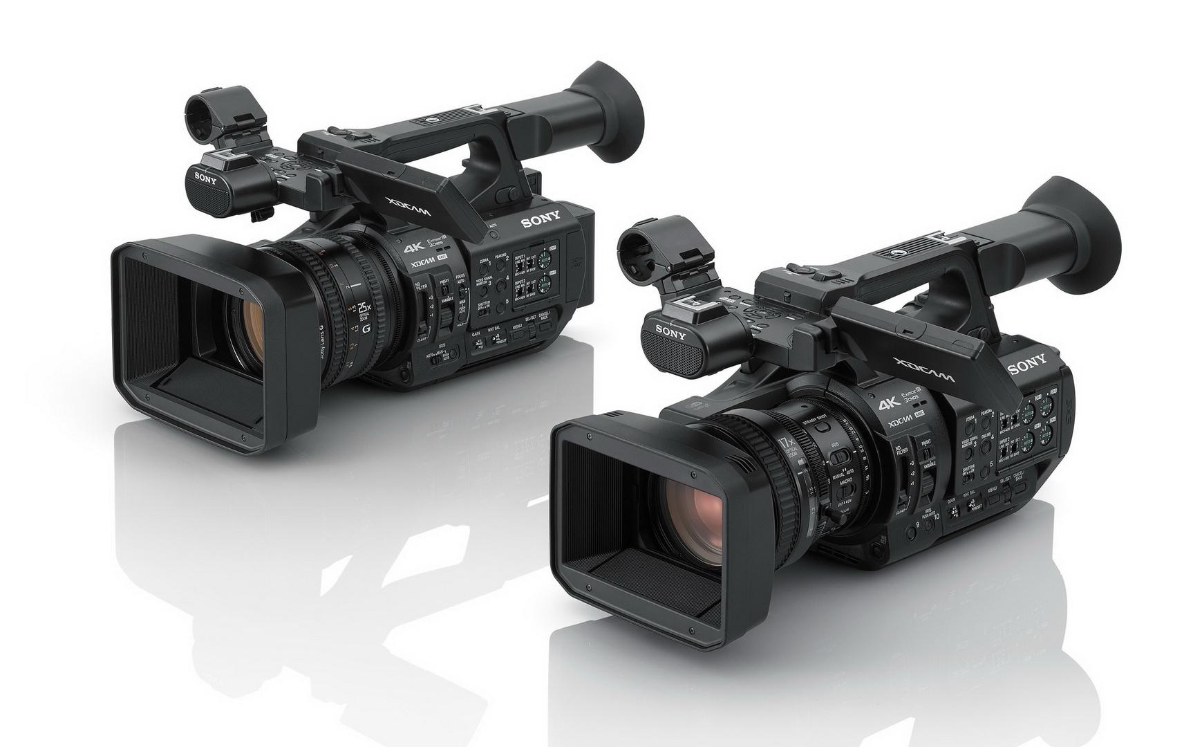 עדכון חומרה לשתי מצלמות של סוני