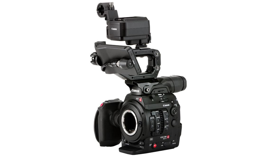 מצלמת C300 MK II עם מסך מגע
